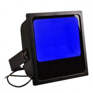 projecteur led bleu pour grue de chantier
