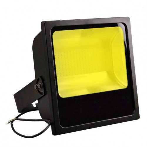 projecteur led 150w jaune pour grue de chantier eclairage led pro. Black Bedroom Furniture Sets. Home Design Ideas