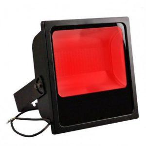 projecteur led pour grue de chantier rouge