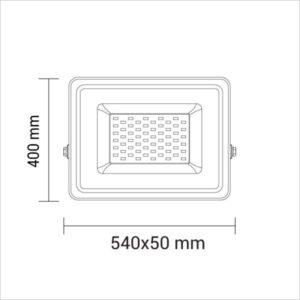 projecteur-led-300w-dimensions