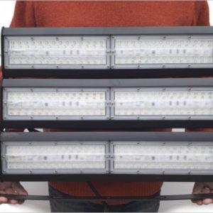 Projecteur-led-300W-grue-grande-hauteur
