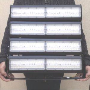 Projecteur-led-400w-grue-grande-hauteur